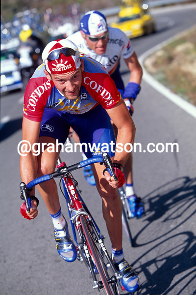 Nico Mattan in the 1999 Paris-Nice