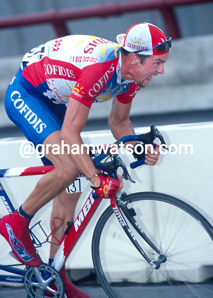Nico Mattan in the 1999 Tour of Spain
