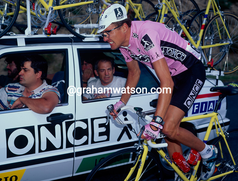 Alex Zulle on a stage of the 1995 Tour de France