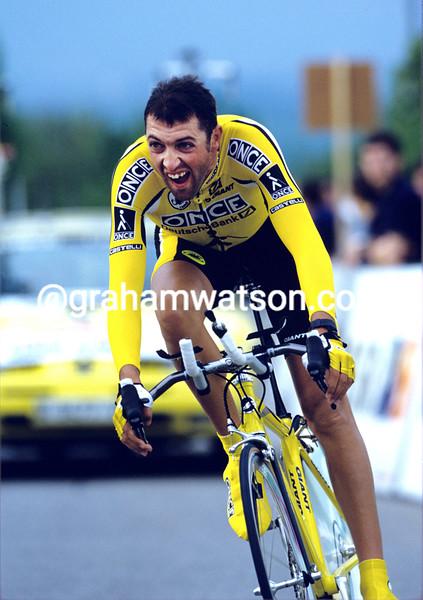 Marcelino Garcia in the 1997 Tour de Romandie