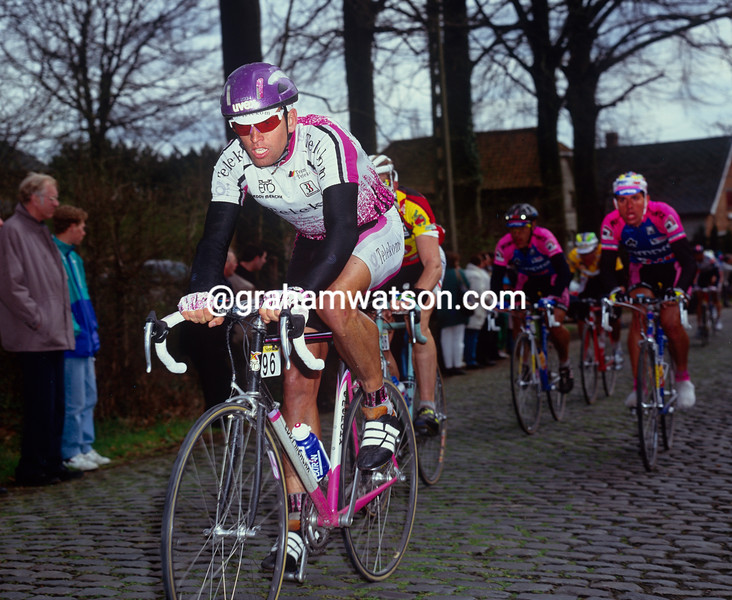Olaf Ludwig in the 1993 Tour of Flanders