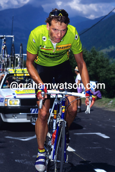 Olaf Ludwig in the 1988 Tour de France