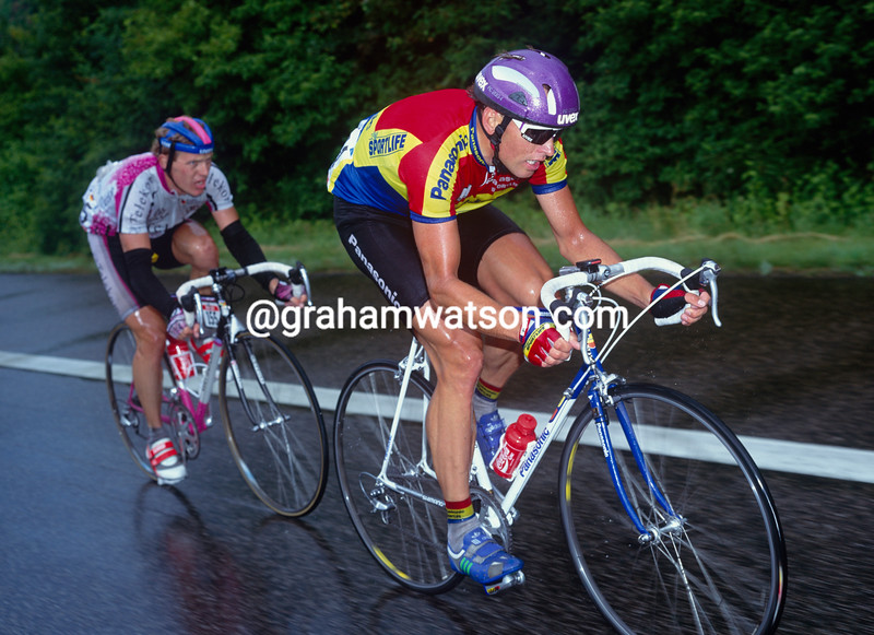 Olaf Ludwig in the 1990 Tour de France