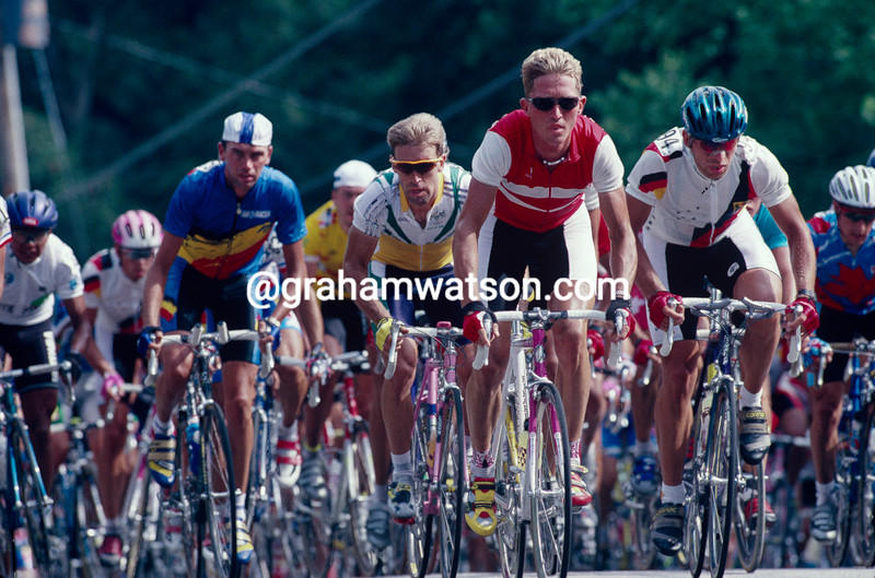 Brian Holm in the 1996 Olympic Games Mens Road Race