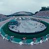 The velodrome in Atlanta in the 1996 Olympic Games