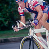 Lance Armstrong in the mens time trial in the 1996 Olympic Games