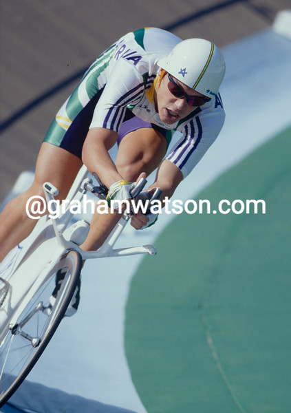 Bradley McGee  in the 1996 Olynpic Games Pursuit title