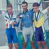 Claudio Golinelli with Philippe Ermenault and Bradley McGee  in the 1996 Olynpic Games