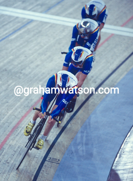 Germany in the team pursuit at the 2000 Olympic Games
