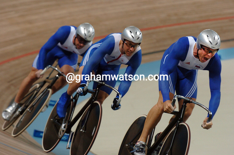 Great Britain races to 5th place in the Olympic sprint in the 2004 Olympic Games