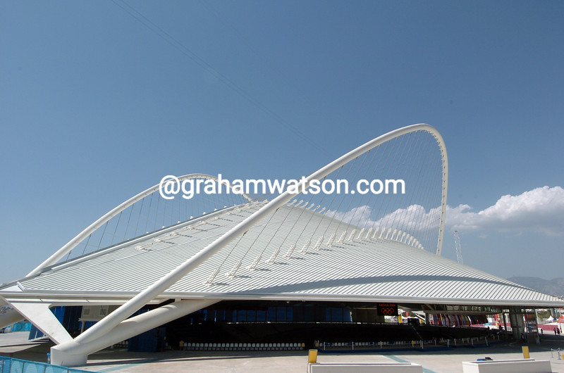 The Olympic Velodrome in Athens