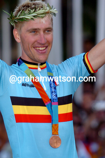 Axel Merckx in the 2004 Olympic Games