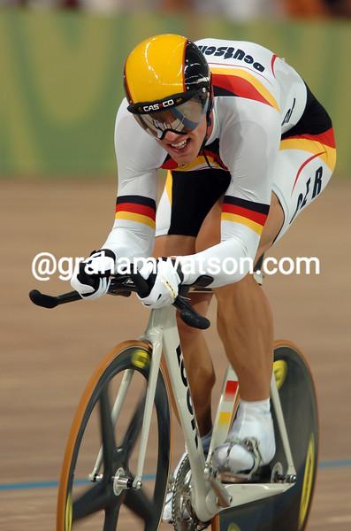 Stefan Nimke TAKES THE BRONZE MEDAL IN THE 2004 OLYMPIC GAMES 1-KILO TT
