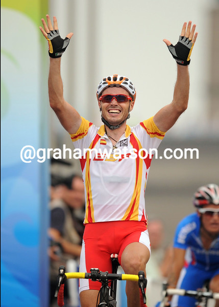 SAMMY SANCHEZ WINS THE 2008 OLYMPIC GAMES