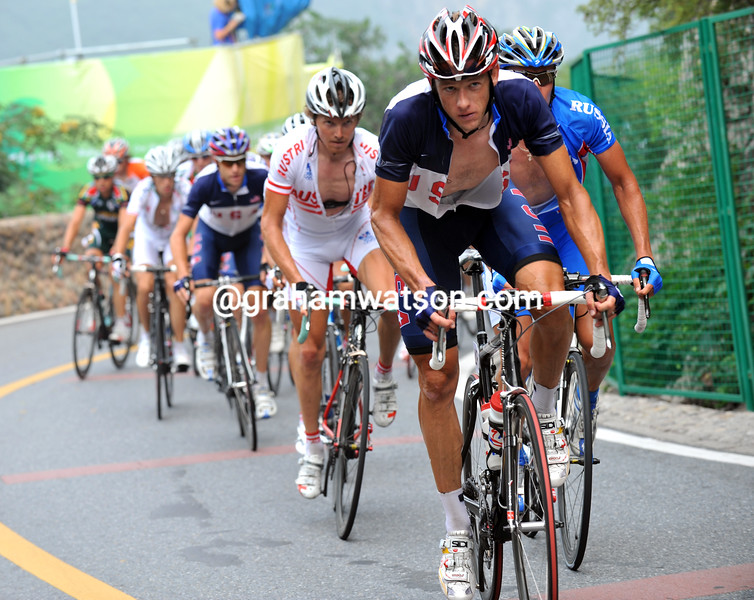 JASON MCCARTNEY LEADS AT THE 2008 OLYMPIC GAMES
