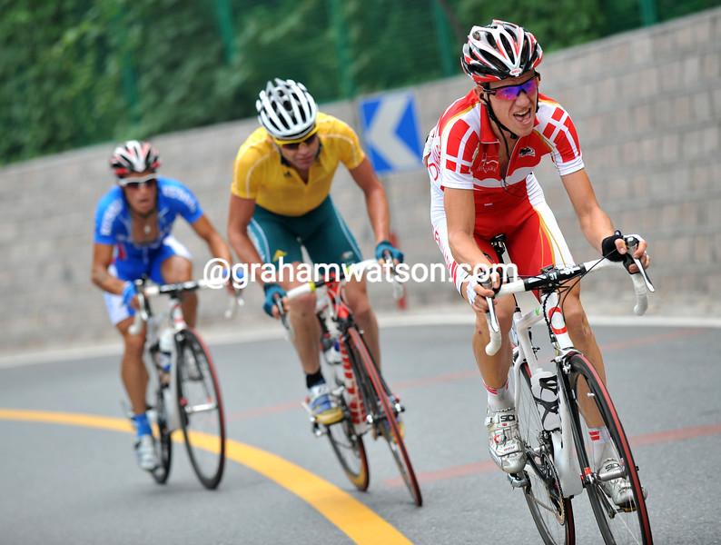 CHRIS SORENSEN ATTACKS AT THE 2008 OLYMPIC GAMES