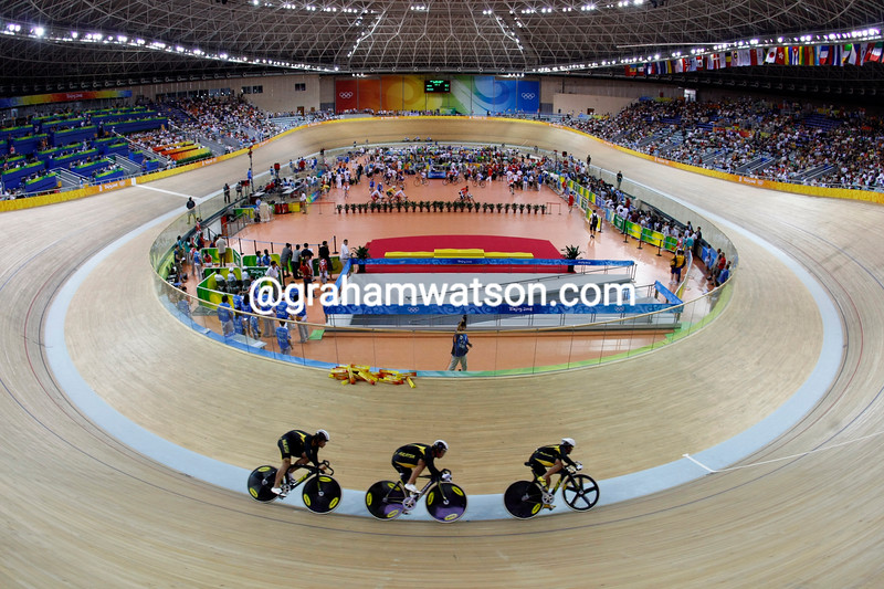 MALAYSIA IN THE MENS SPRINT AT THE 2008 OLYMPIC GAMES