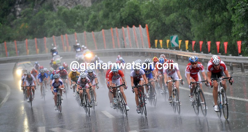 THE WOMENS ROAD RACE AT THE 2008 OLYMPIC GAMES