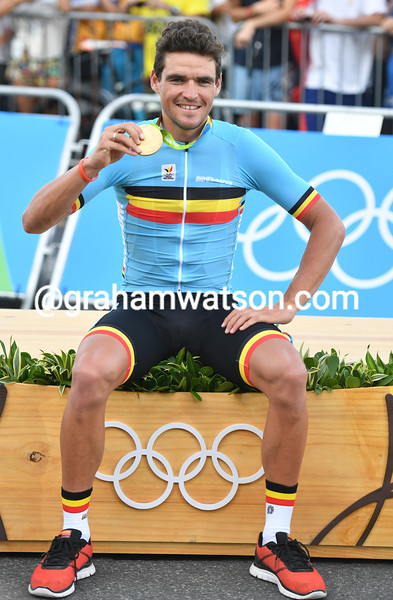 Greg Van Avermaet has added an Olympic Gold medal to his illustrious palmares!