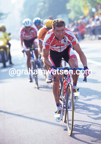 Oscar Camenzind in the 1996 World Road Championships