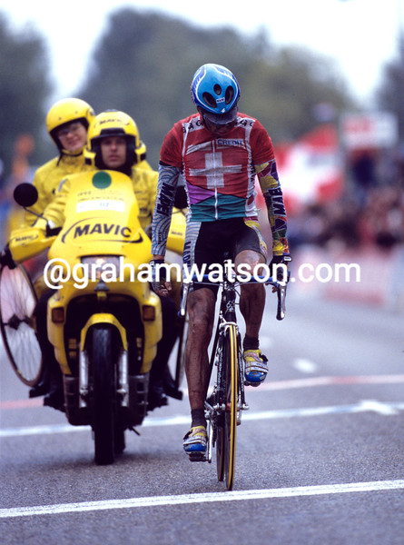 Oscar Camenzind in the 1998 World Road Championships