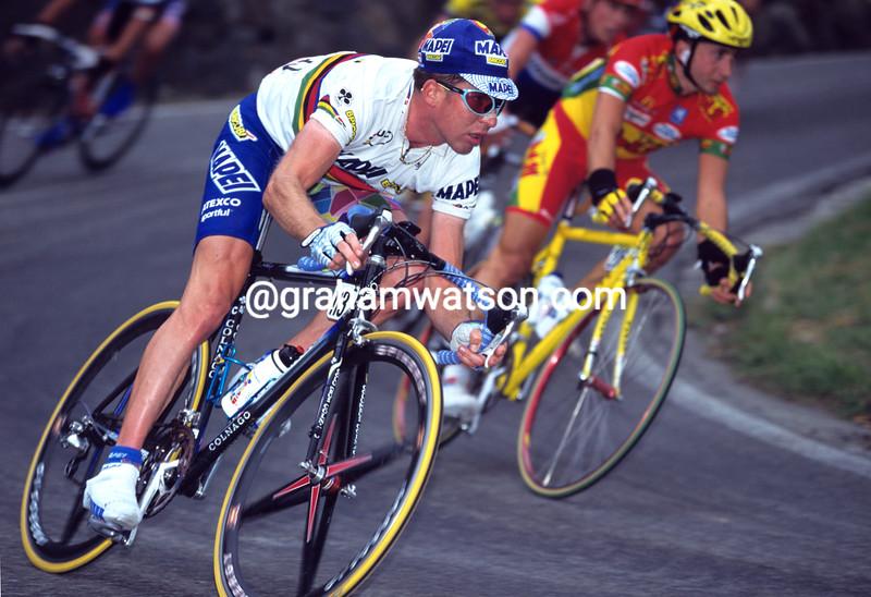 Oscar Camenzind in the 1998 Giro Lombardia