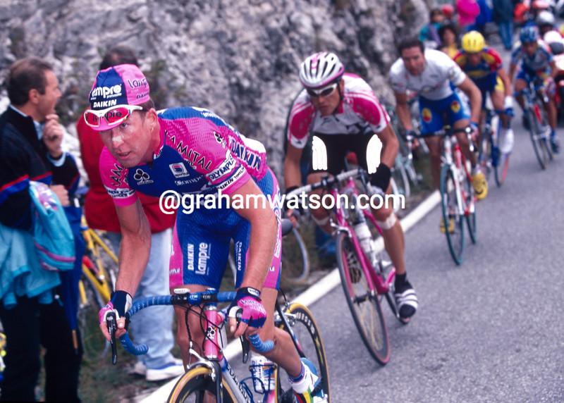Oscar Camenzind in the 1997 Giro di Lombardia