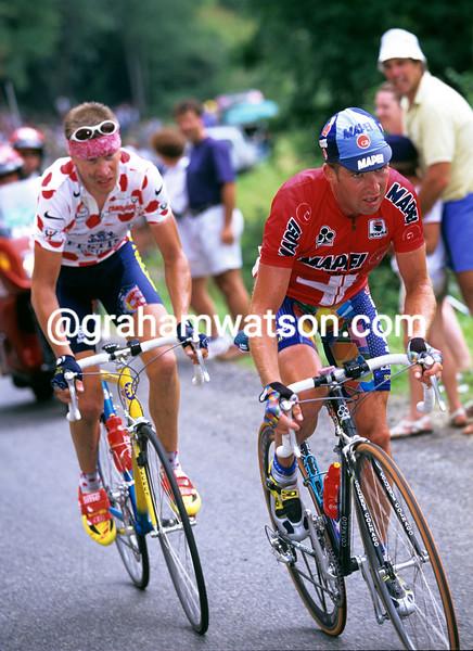 Oscar Camenzind in the 1997 Tour de France