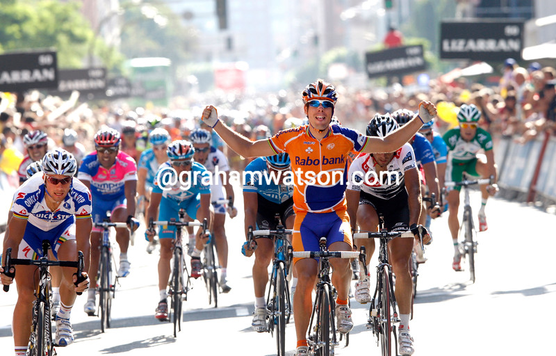 OSCAR FREIRE WINS STAGE ELEVEN OF THE 2008 TOUR OF SPAIN