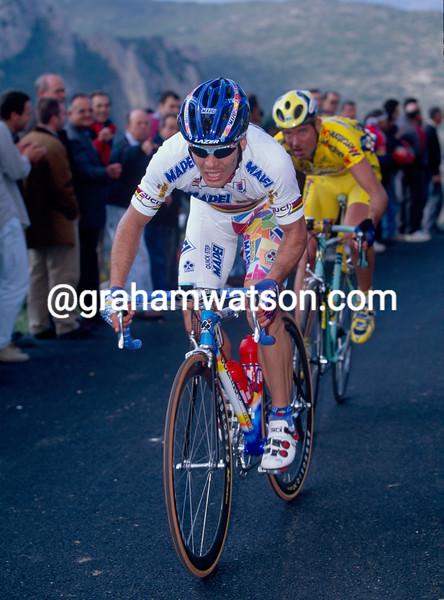 Oscar Freire in the 2001 Giro di Lombardia
