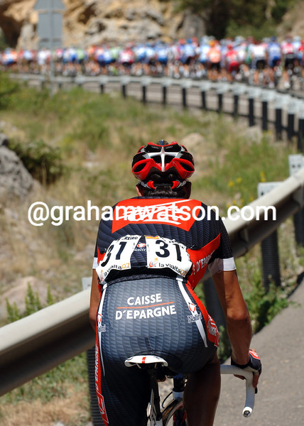 OSCAR PEREIRO LOSES TIME ON STAGE NINE OF THE 2007 TOUR OF SPAIN
