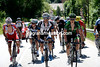 A seventeen man escape has formed now, with Spilak and Europcar's Gautier safely on-board...