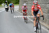 Tony Gallopin is attacking as well, he'll form a four-man escape with Trofimov, Silin and Hesjedal...