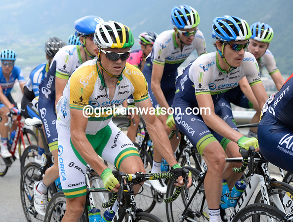 Simon Gerrans and Daryl Impey are also illustrious members of the grupetto...