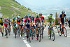 A grupetto is forming with Sylvain Chavanel as part of it...