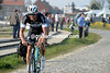 Tom Boonen looks lost as he chases Cancellara...