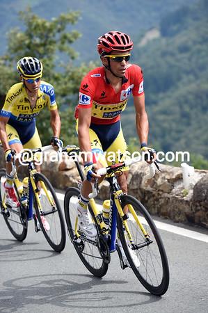 Alberto Contador responds easily to the Omega threat, for now...