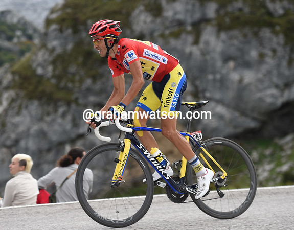 Contador is still fighting, but he'll be beaten by Valverde and Rodriguez, and by five-seconds too..!