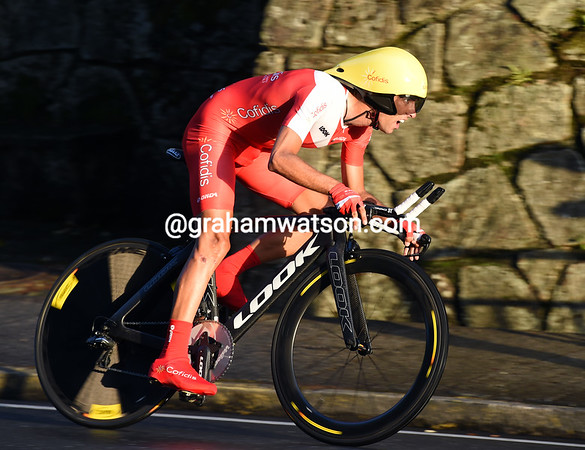 "Dani Navarro took 85th at 1' 33"" in Santiago, but ended his Vuelta in 10th place overall..."