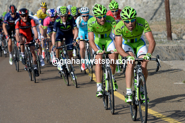 Cannondale laucnhes an offensive with Sagan and Phinney following their every move...