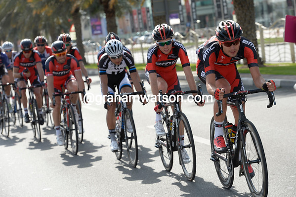 Rick Zabel is leading the chase for BMC...