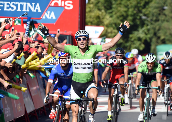 John Degenkolb wins stage five ahead of Bouhanni and Hofland...