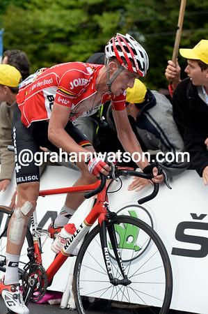 Jurgen Van den Broeck takes 17th, he'll move into 11th overall...