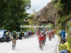 The race crosses the Col de la Schluclte in smithereens after 10-kilometres of attacking...