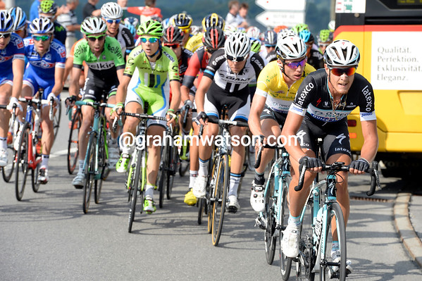 Omega now controls the finale, with Marin likely to retain his race-lead on the uphill finish...