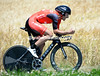 Fabian Cancellara took fourth at 41-seconds after leading all day long..!
