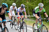 Knees drops out of the escape to watch Mollema, Frank and Rui Costa fly past..!