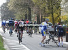 Two cyclists have touched wheels in the opening kilometres - this will be a day marred by crashes...