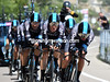 Team Sky took 9th place, 27-seconds down...