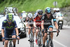 The escape has split on the second big climb - Siutsou, Visconti, Bookwalter and Dupont are a minute ahead of the chasers, two minutes ahead of the peloton...